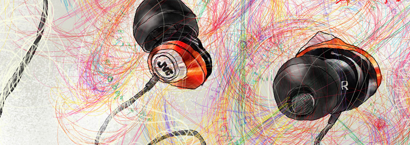 携帯音楽プレイヤーのイヤフォン(ミニヘッドフォン)はすぐに断線してしまう。 比較的高価なものを買って、充実感を