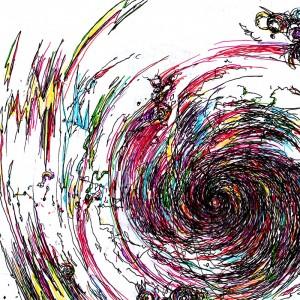 ブラックフォールは白い虹の渦・部分